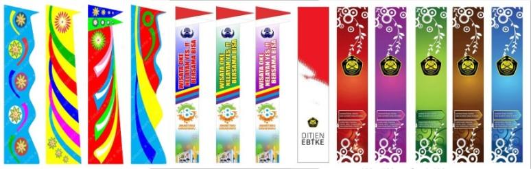 Umbul Umbul Polos Dan Perusahaan Bos Bendera Jakarta